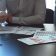 Hands Work With Financial Documents.  - VideoHive Item for Sale