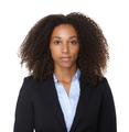 Close up portrait of a black business woman - PhotoDune Item for Sale