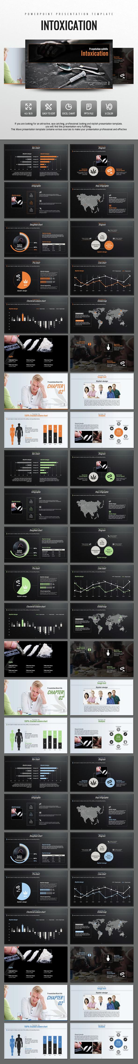 Intoxication PowerPoint - PowerPoint Templates Presentation Templates