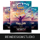 Love Has Won Happy Easter Church Flyer - GraphicRiver Item for Sale