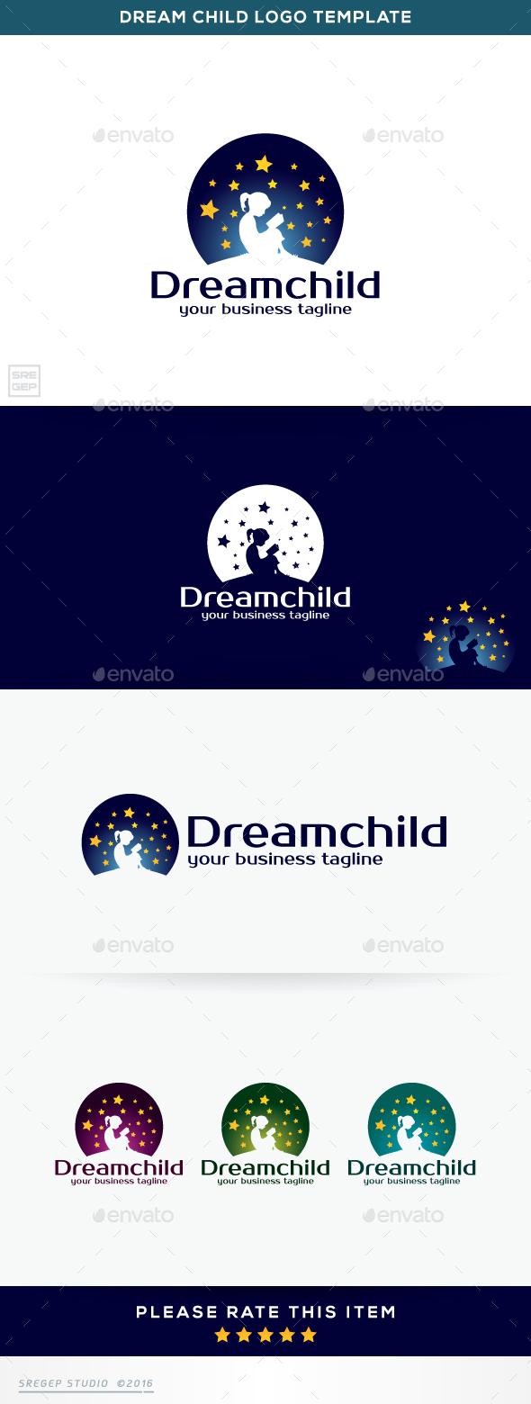 Dream Child - Humans Logo Templates