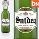 9 Premium Beer Labels V2 - GraphicRiver Item for Sale