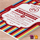 Birthday Party Invitation Template - Vol . 9 - GraphicRiver Item for Sale