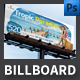 Family Holiday Billboard Template - GraphicRiver Item for Sale