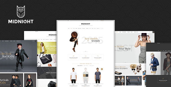 Image of JMS MidNight - Responsive Prestashop Theme