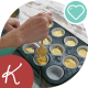 Preparation Of Cake With Spoons Laid Out The Dough On The Cake Pan - VideoHive Item for Sale