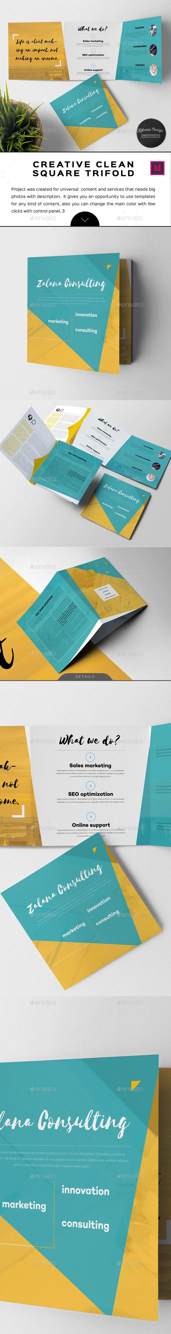 Zalana Square Brochure - Informational Brochures