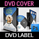Corporate DVD Cover and Label Template