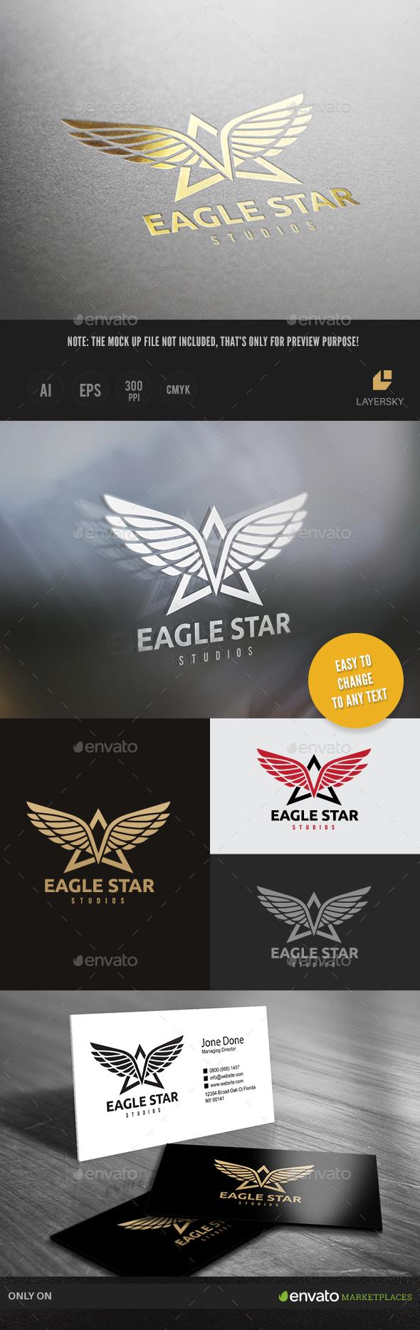 Eagle Star Logo - Crests Logo Templates