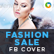 Fashion Sale Facebook Cover - GraphicRiver Item for Sale