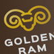 Golden Ram logo - GraphicRiver Item for Sale