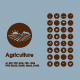 Set of agriculture simple icons - GraphicRiver Item for Sale