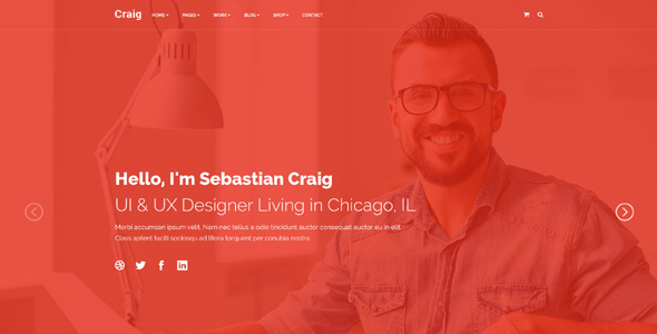 Craig - Personal Landing Page