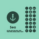Sea simple icons - GraphicRiver Item for Sale