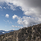 Rock Mountain and Storm Clouds Coming - VideoHive Item for Sale