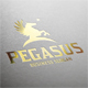 Pegasus Star Logo Template - GraphicRiver Item for Sale