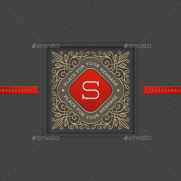 Monogram Logo Template - Decorative Vectors