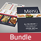 Restaurant Food Menu Bundle - GraphicRiver Item for Sale