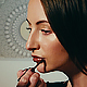 Woman Making Make Up At Home - VideoHive Item for Sale
