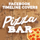 Facebook Timeline Cover - Pizza Bar - GraphicRiver Item for Sale