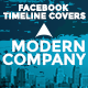Facebook Timeline Covers - Modern Company - GraphicRiver Item for Sale