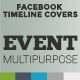 Facebook Timeline Cover - Event Multipurpose - GraphicRiver Item for Sale