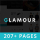 Glamour - Multipurpose OnePage & MultiPage Template Nulled