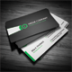 Clean Corporate Business Card - Green