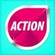 Action Effect Web Stickers - GraphicRiver Item for Sale