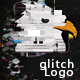 Glitch Spiral Logo Opener - VideoHive Item for Sale