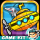 Submarine Adventure Game Kits - GraphicRiver Item for Sale