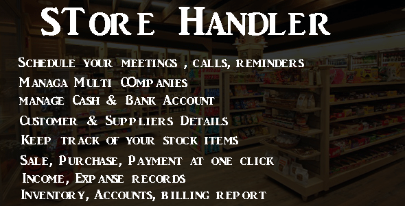 Store Handler - CodeCanyon Item for Sale