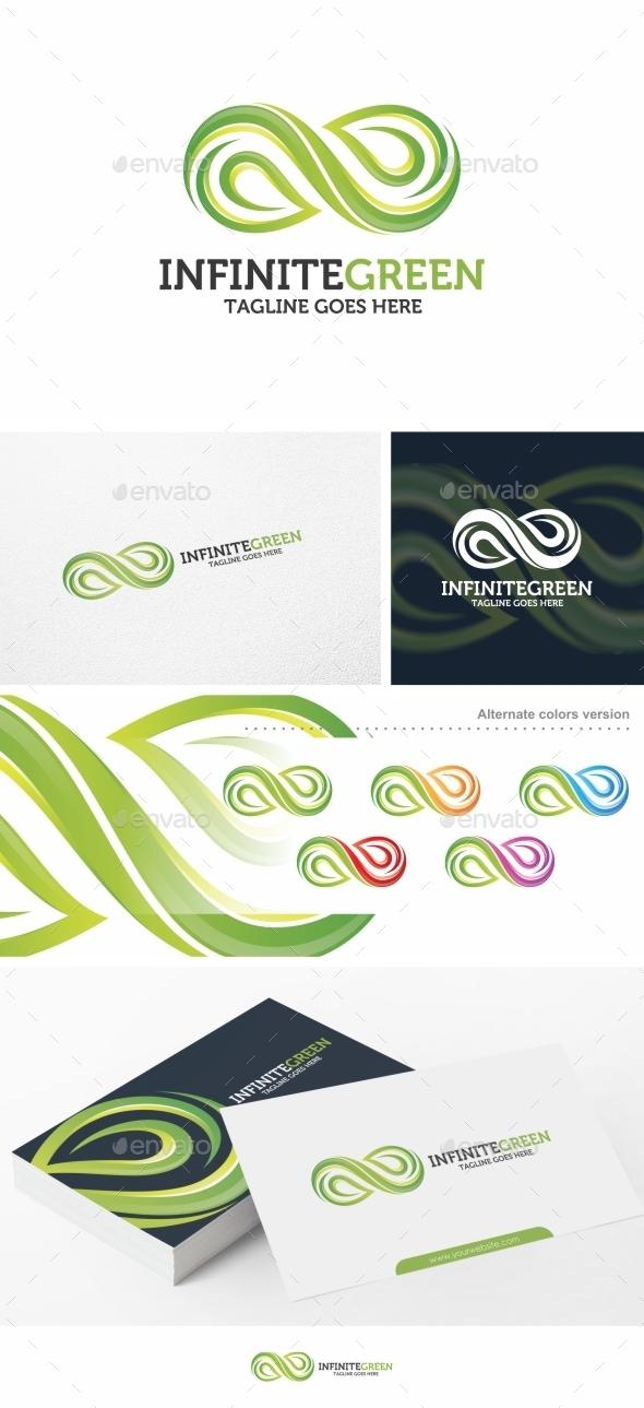 Infinite Green - Logo Template - Nature Logo Templates
