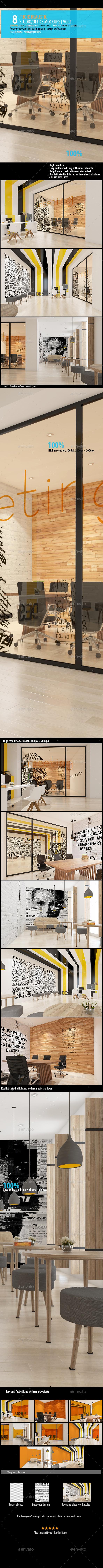 Studio / Office Mockups [Vol2] - Logo Product Mock-Ups