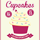 Cupcake Flyer Template Vol. 3 - GraphicRiver Item for Sale