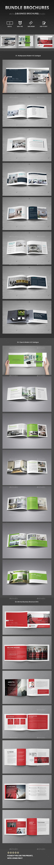 A5 Catalog & Corporate Business Brochure Bundle  - Catalogs Brochures
