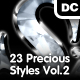 Precious Styles Vol.2 – Pearl, Amber, Gems - GraphicRiver Item for Sale
