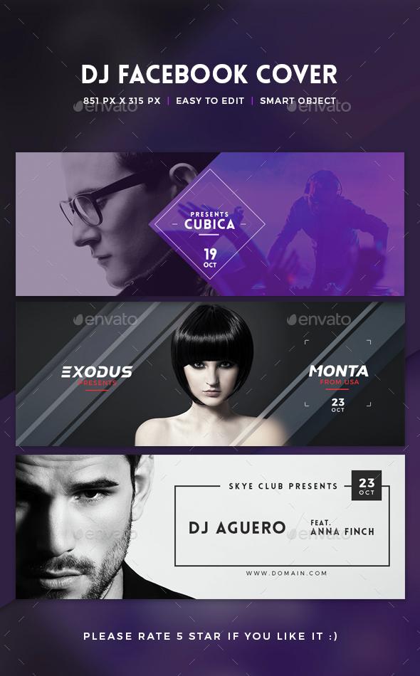 Facebook DJ Cover - Miscellaneous Social Media