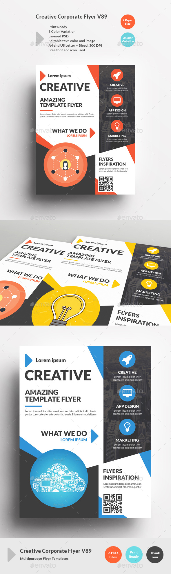 Creative Corporate Flyer V89 - Corporate Flyers