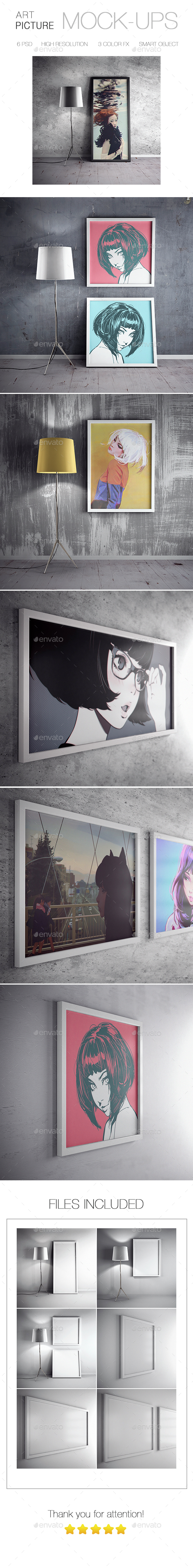 Picture Art Mockup - Posters Print