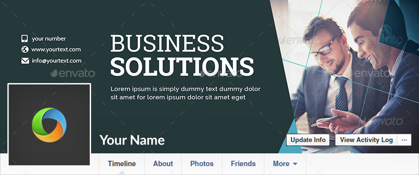 Corporate Facebook Covers - 10 Designs