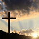Big Cross at Sunset - VideoHive Item for Sale