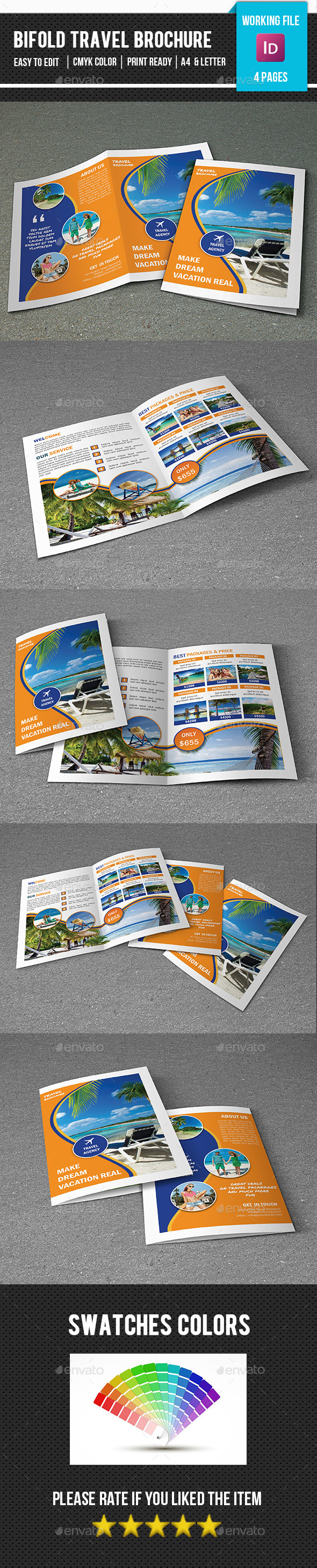 Travel Tour Brochure Template-V364 - Corporate Brochures