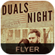 Duals Night Flyer Poster - GraphicRiver Item for Sale