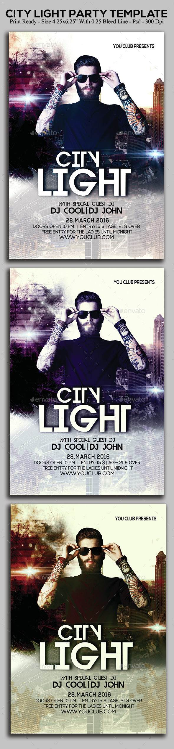 City Light - Clubs & Parties Events