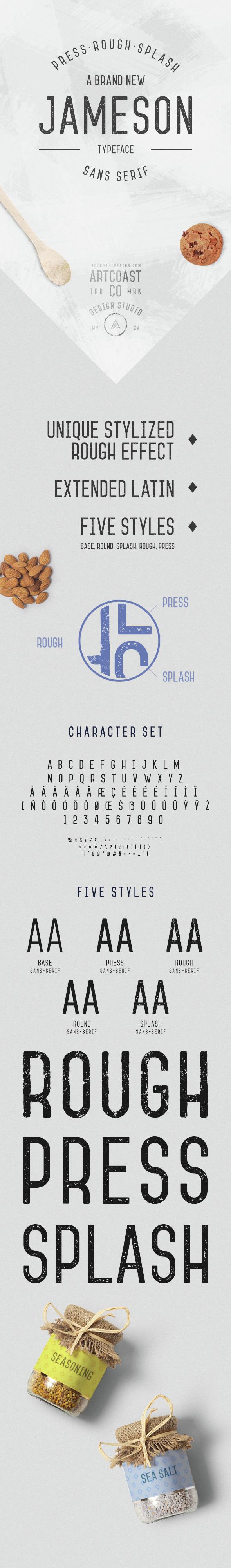 Jameson Sans-Serif - Condensed Sans-Serif