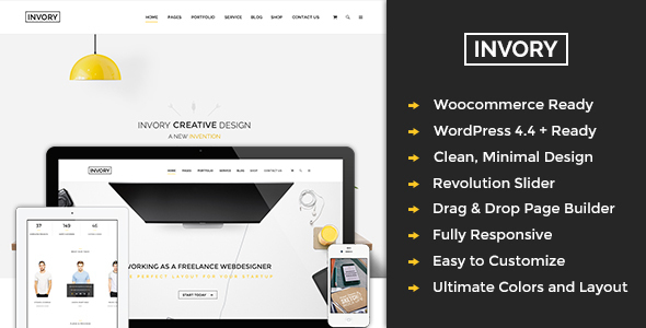 Invory Multipurpose WordPress Theme