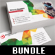 3 in 1 Corporate Business Card Bundle 02 - GraphicRiver Item for Sale
