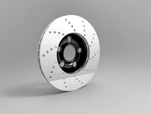 Brake Rotor - 3DOcean Item for Sale