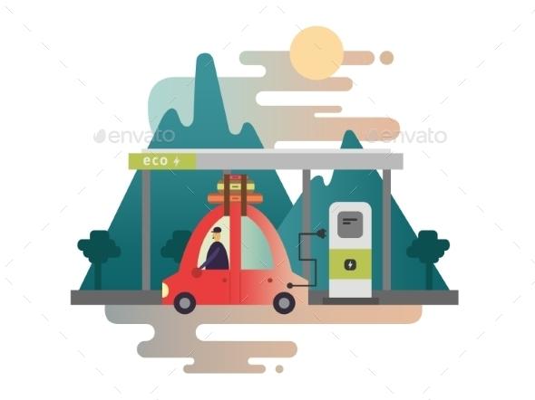 Electric Car Design - Miscellaneous Conceptual
